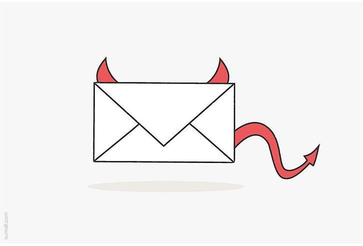 email-spam-rifiutate