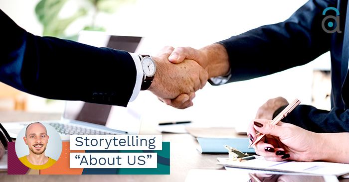Storytelling aziendale nella pagina about us