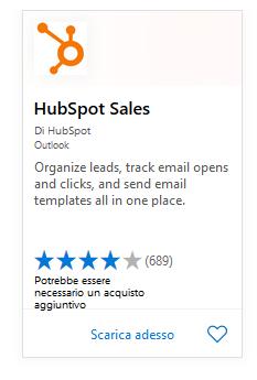 HubSpot Sales Office 365