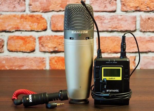 microfoni a confronto