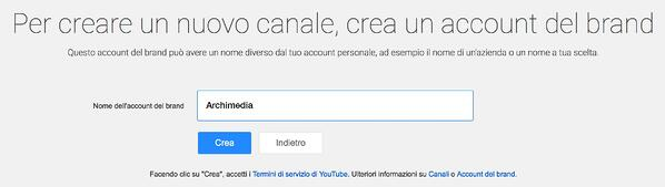 Archimedia nuovo canale youtube