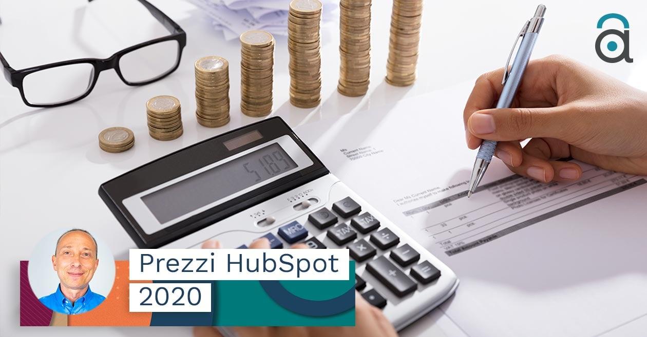 Prezzi Hubspot aggiornati al 2020