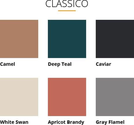 tabella colori pantone 2019