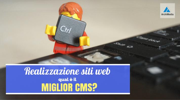 Realizzazione siti web qual il miglior cms for Miglior design di siti web di mobili