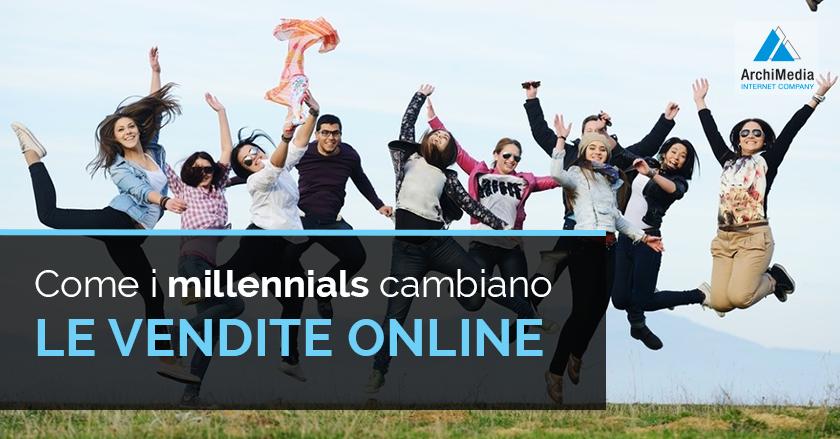 Come i millennials cambiano le vendite online