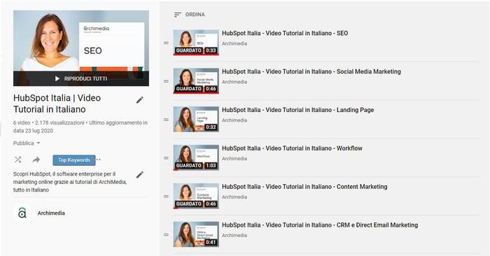 come aumentare visualizzazioni youtube - playlist e thumbnail - Copia