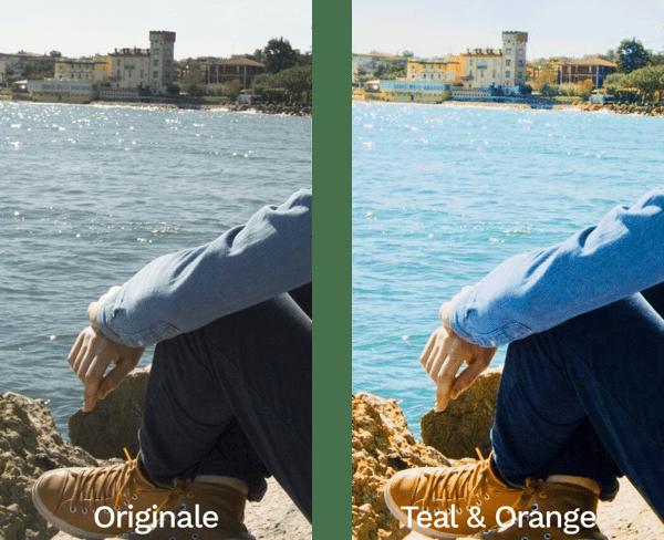 esempio teal and orange