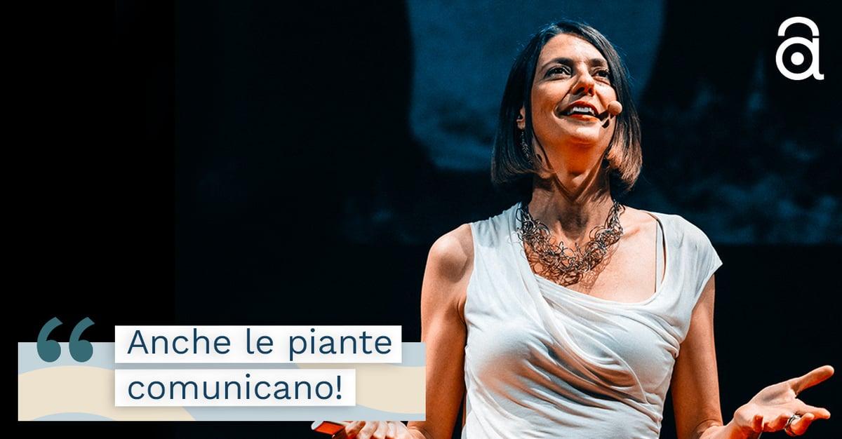 Alessandra Viola e l'intelligenza del mondo Vegetale