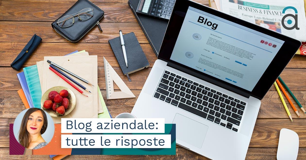 Che cos'è un blog? Che cos'è un blog aziendale?
