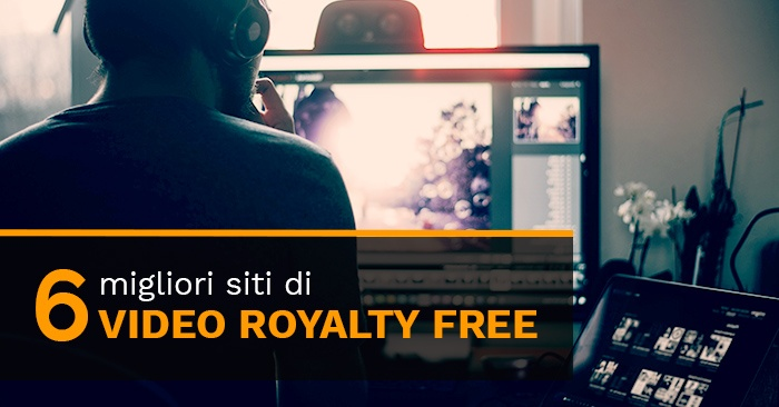 I 6 migliori sitidi video royalty free