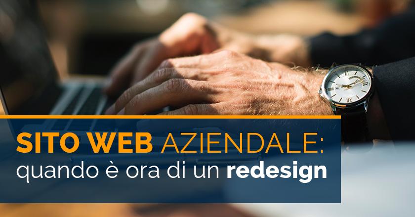 Sito Web Aziendale: quando è ora di un redesign