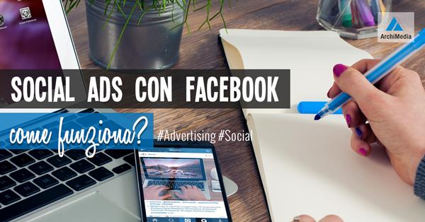 Social Ads con Facebook:cosa fare?